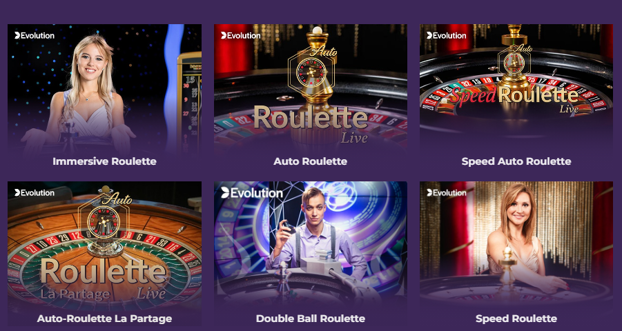 Live казино рулетка